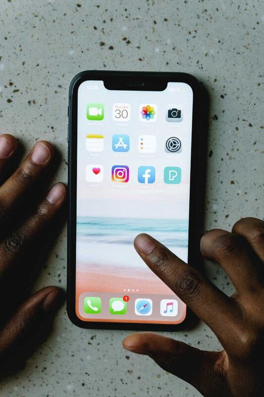 How can you turn off iPhone 11 in setting