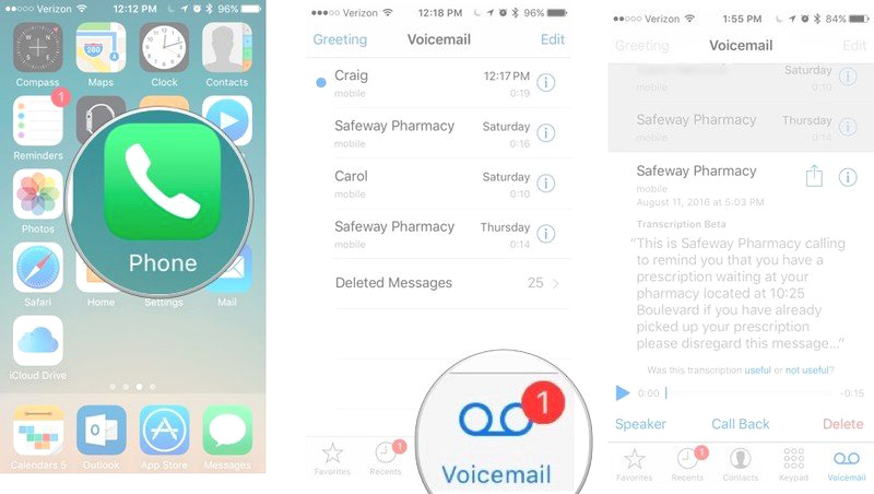 How to set up voicemail on iPhone 11: VIEW TRANSCRIPT.