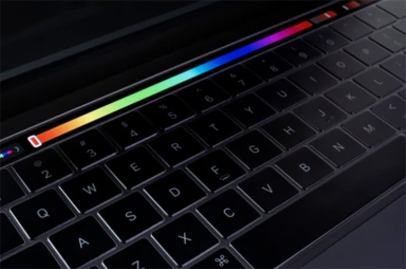 mac touch bar