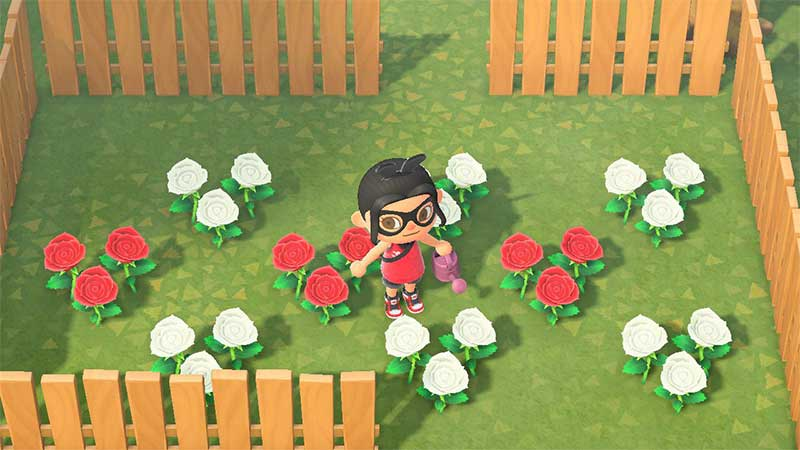 Animal crossing flowers: Process For Creating Flowers.