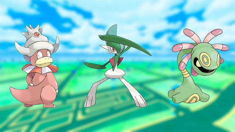 cliff pokemon go: Slowking counters