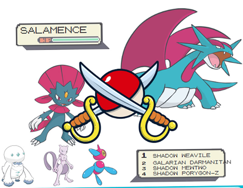 Pokemon go Arlo: Salamence counters