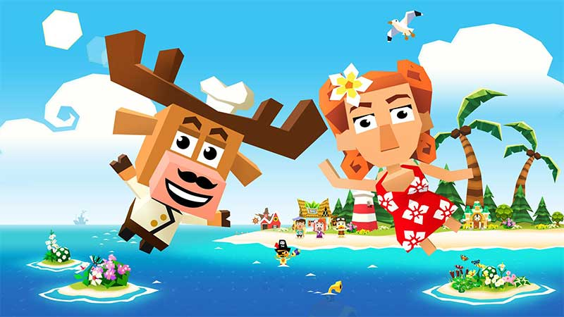 Games like animal crossing: Castaway Paradise