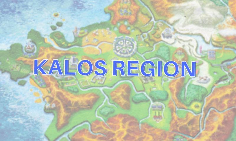 Gen 6 pokemon: Region