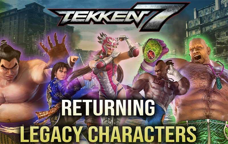 Tekken 7 characters: Returning characters