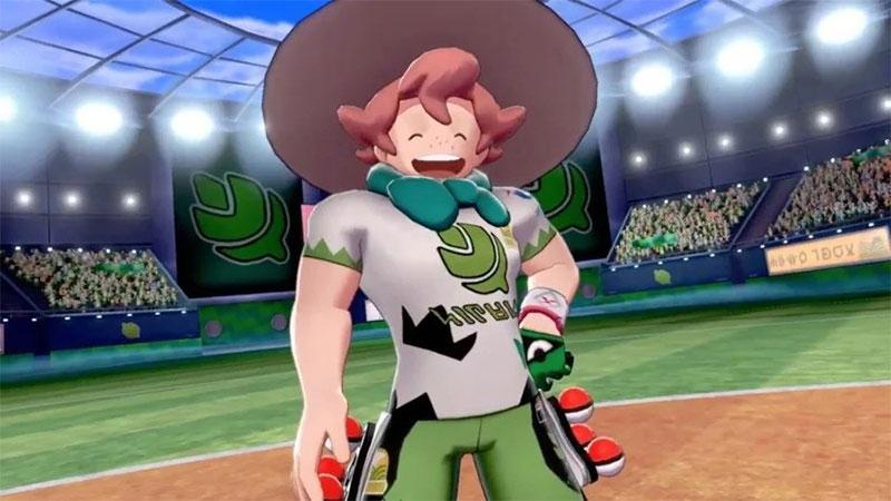 Grass Gym Leader Milo