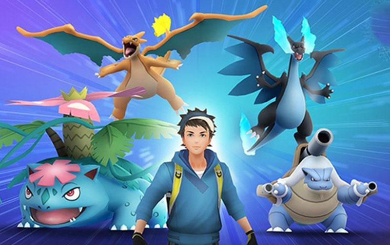 pokemon go mega evolution: Mega Raids