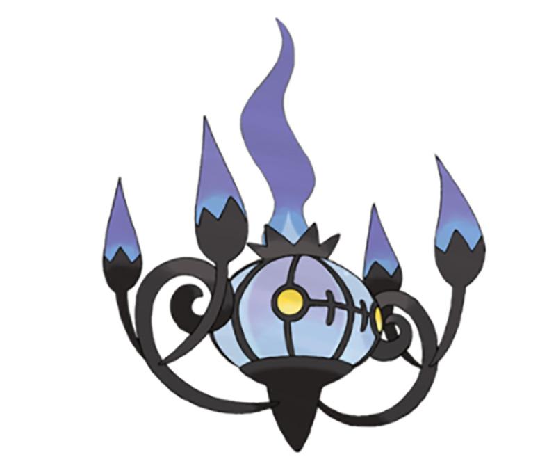 pokemon go Mewtwo: Chandelure