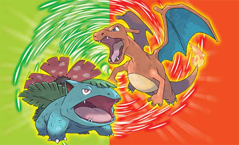 pokemon fire red: Pokémon