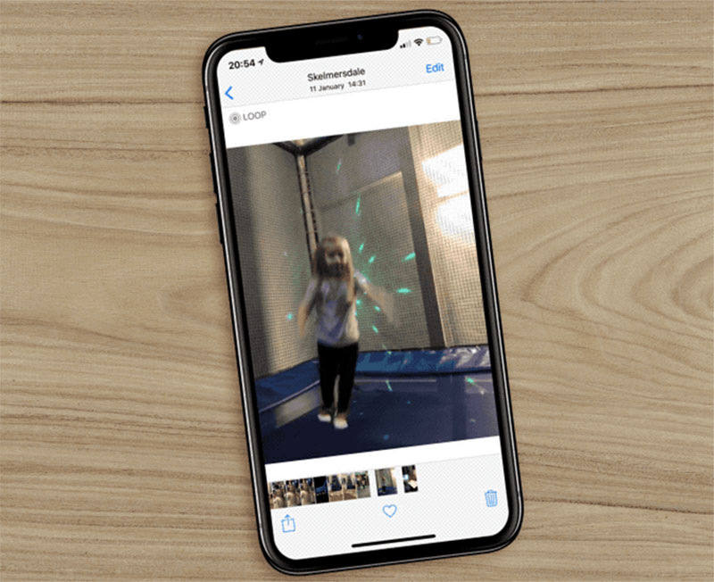 How to save gifs on iPhone and Add a GIF from images